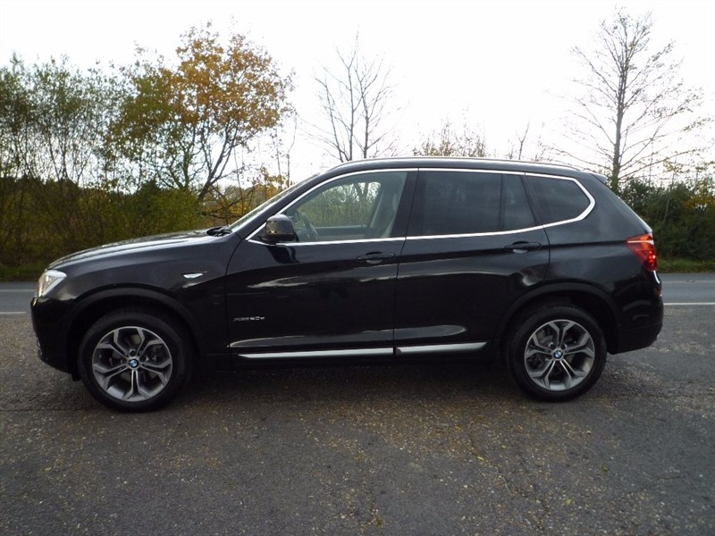 used BMW X3 20d xLine Auto xDrive 5dr in suffolk