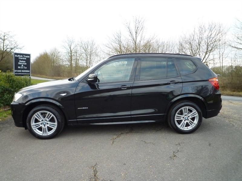 used BMW X3 20d BluePerformance M Sport xDrive 5dr in suffolk