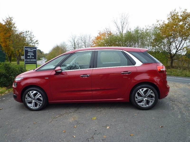 used Citroen C4 Picasso e-HDi Exclusive 5dr in suffolk