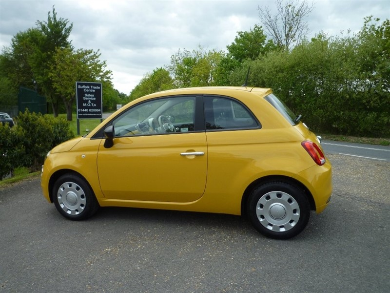 used Fiat 500 1.2 Pop (s/s) 3dr in suffolk