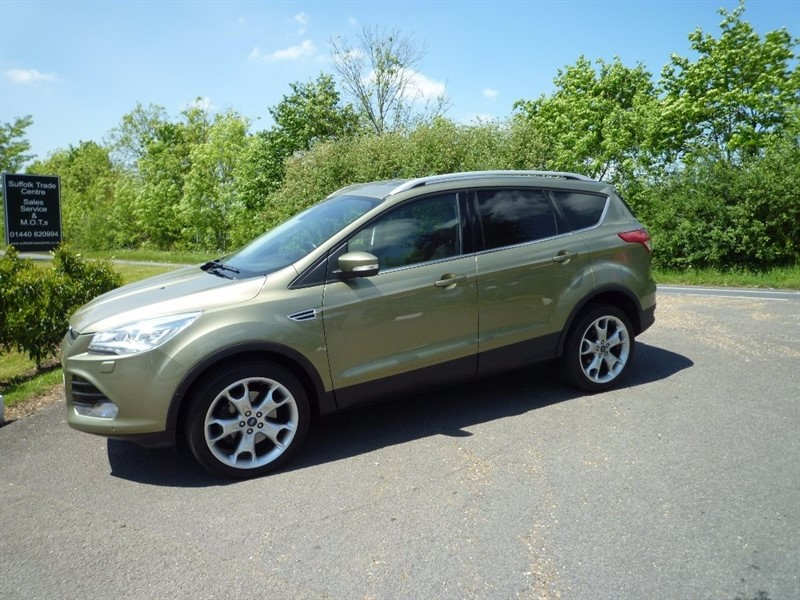 used Ford Kuga TDCi Titanium X Station Wagon (AWD) 5dr in suffolk