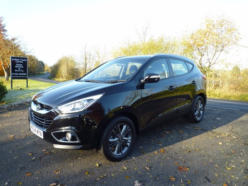 used Hyundai ix35 CRDi SE SUV 4WD 5dr in suffolk