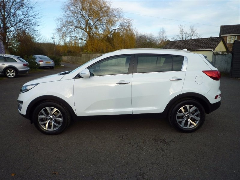 used Kia Sportage CRDi Axis Edition ISG 5dr (ISG) in suffolk