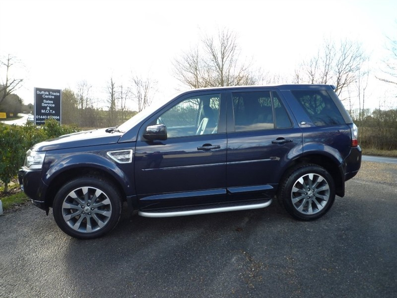 used Land Rover Freelander 2 SD4 HSE Luxury 4X4 5dr in suffolk