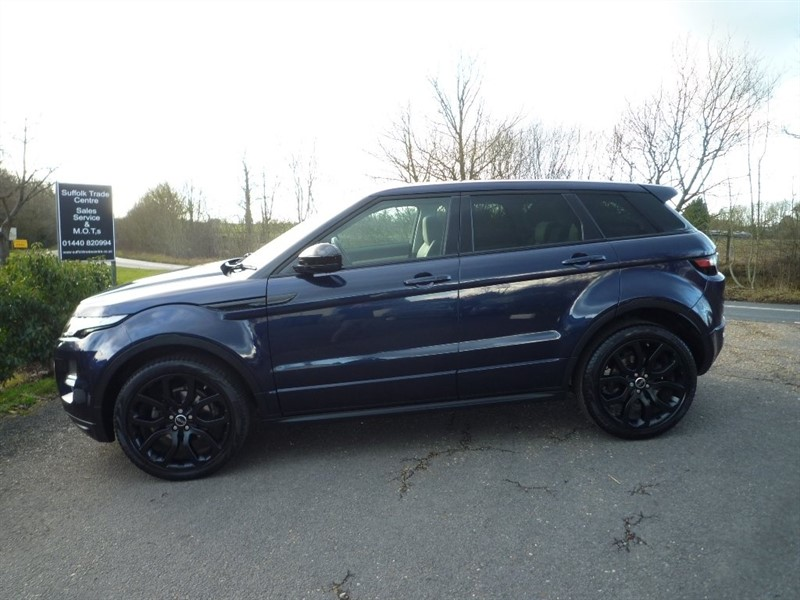 used Land Rover Range Rover Evoque SD4 Dynamic LUX AWD 5dr in suffolk