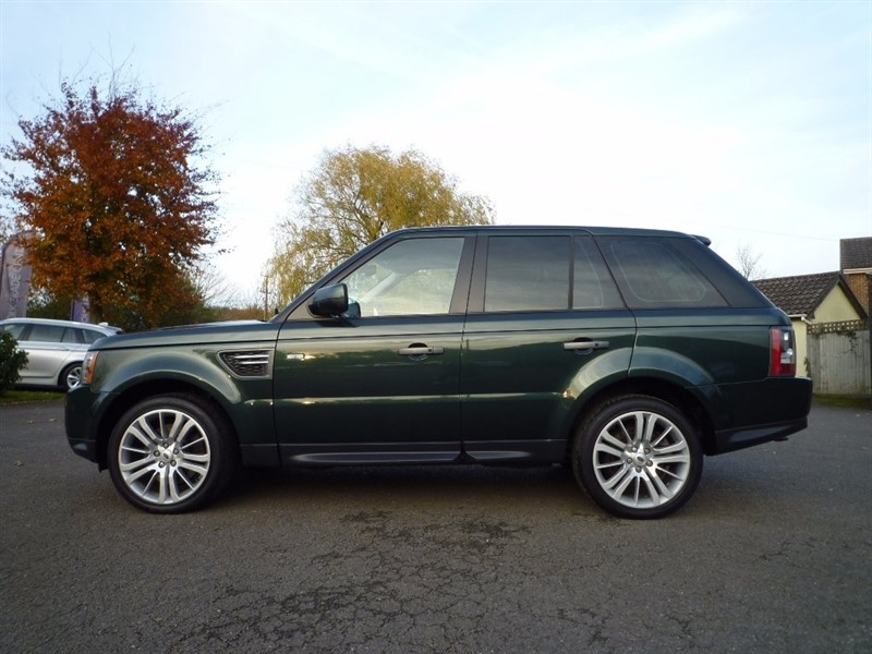 used Land Rover Range Rover Sport TD V6 HSE 5dr in suffolk