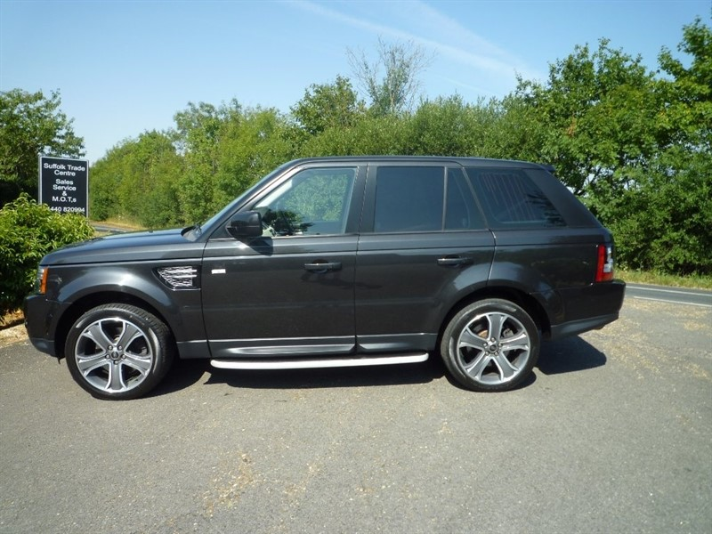 used Land Rover Range Rover Sport TD V6 HSE Black Edition 4X4 (s/s) 5dr in suffolk