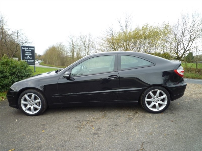 used Mercedes C350 SE 7G-Tronic 2dr in suffolk