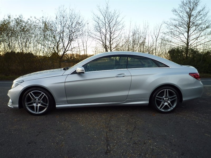 used Mercedes E220 E Class CDI BlueTEC AMG Line 7G-Tronic Plus 2dr (start/stop) in suffolk