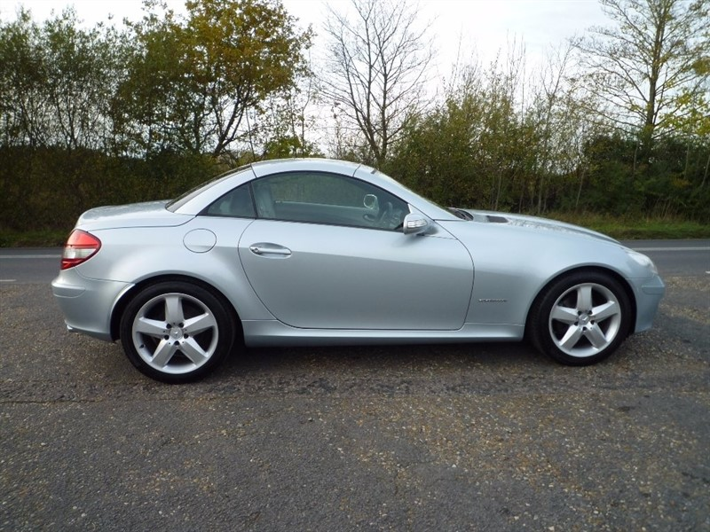 used Mercedes SLK SLK200 Kompressor 2dr in suffolk