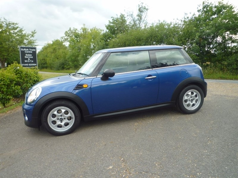 used MINI Hatch One Avenue 3dr in suffolk