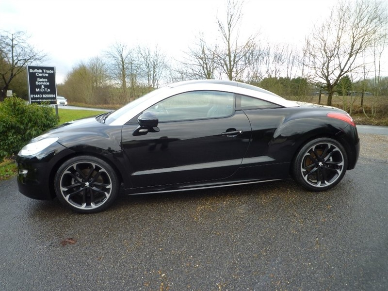 used Peugeot RCZ THP GT 2dr in suffolk