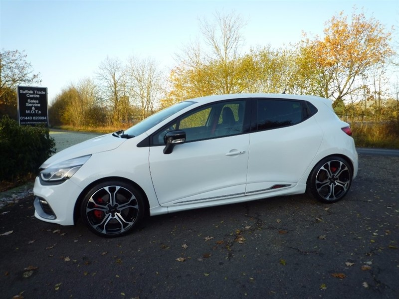 used Renault Clio Turbo Renaultsport Nav 220 Trophy 5dr in suffolk