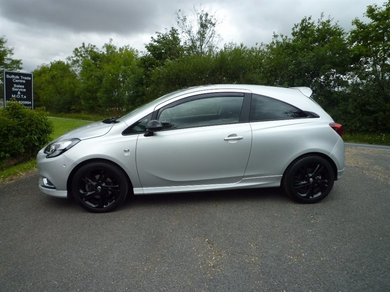 used Vauxhall Corsa ecoFLEX Turbo Limited Edition 3dr (start/stop) in suffolk