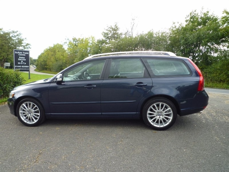 used Volvo V50 D3 SE Lux 5dr in suffolk