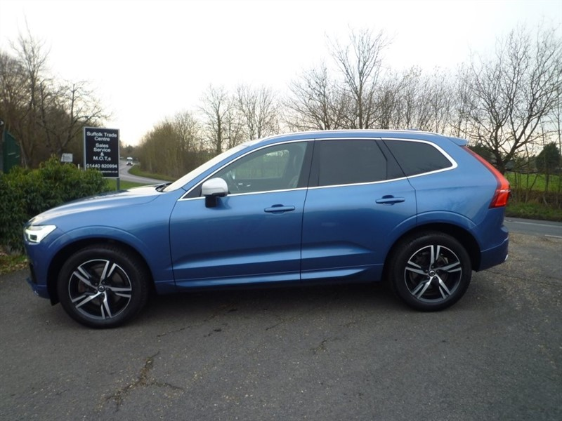 used Volvo XC60 D4 R-Design Geartronic AWD 5dr in suffolk