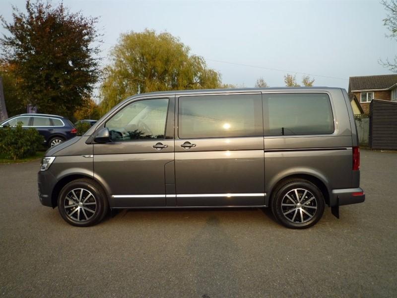 used VW Caravelle TDI BlueMotion Tech Executive Bus DSG 5dr (EU6, SWB, 7 Seats) in suffolk