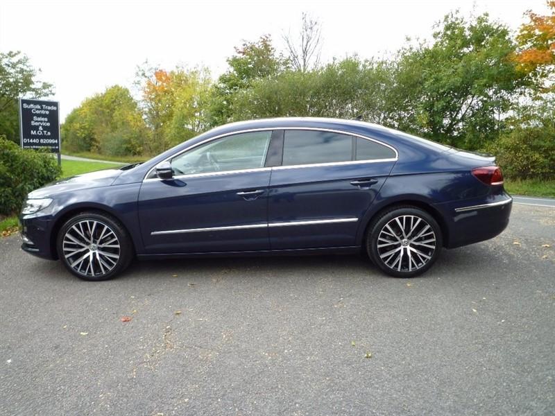 used VW CC TDI BlueMotion Tech GT Saloon DSG 4dr in suffolk