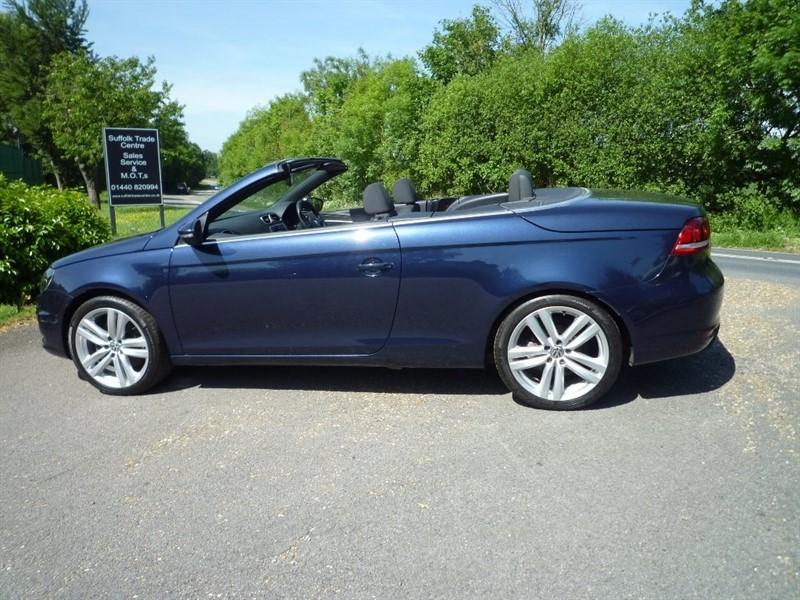 used VW Eos TDI BlueMotion Tech CR Sport Cabriolet 2dr in suffolk