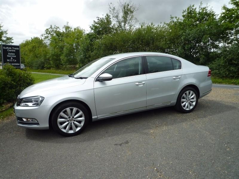 used VW Passat TDI BlueMotion Tech Highline Plus 4dr (start/stop) in suffolk
