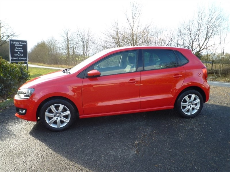 used VW Polo Match 5dr in suffolk