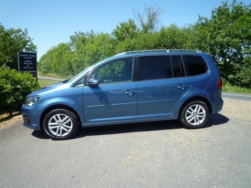 used VW Touran TDI BlueMotion Tech SE (s/s) 5dr in suffolk
