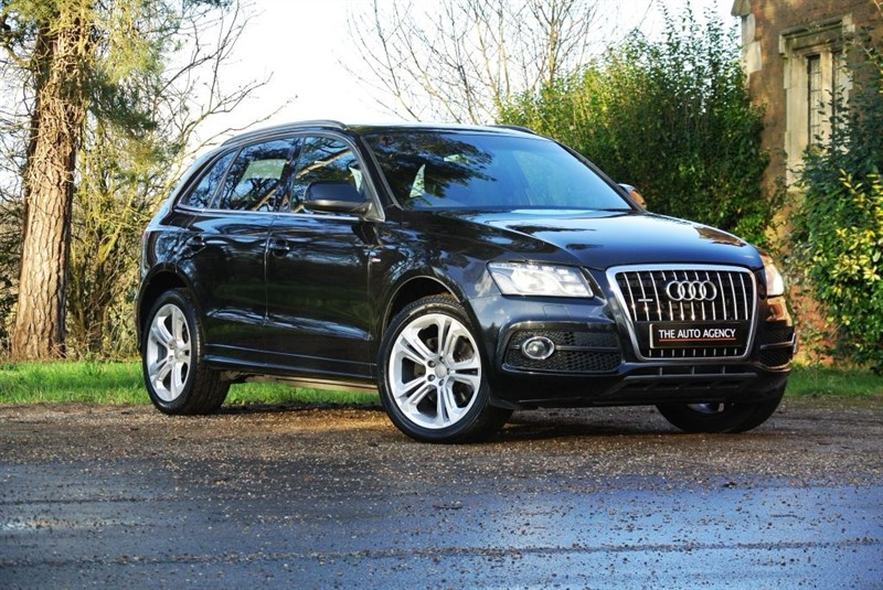 used Audi Q5 TDI QUATTRO S LINE SPECIAL EDITION in hertford-hertfordshire