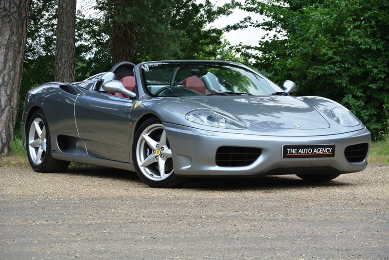 used Ferrari 360 Spider F1 in hertford-hertfordshire