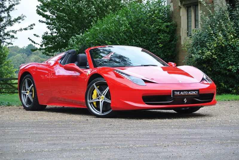 used Ferrari 458 SPIDER DCT in hertford-hertfordshire