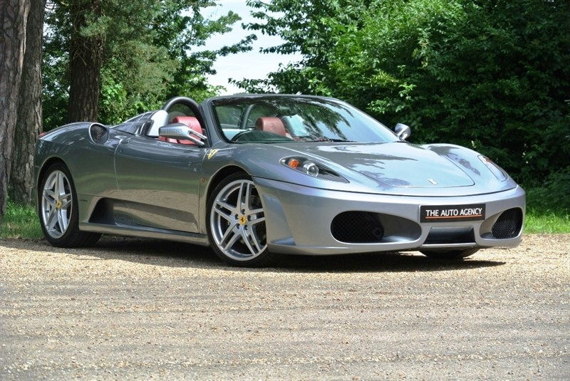 used Ferrari F430 F1 Spider in hertford-hertfordshire