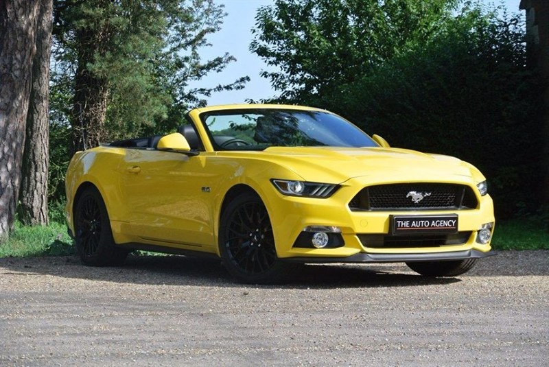 used Ford Mustang 5.0 V8 GT Convertible ** SHAKER SOUND SYSTEM ** in hertford-hertfordshire