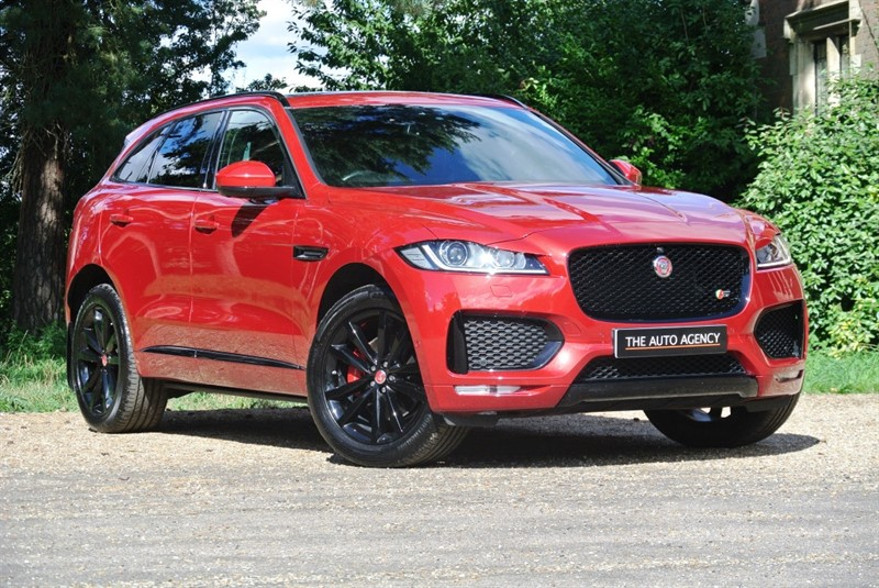 used Jaguar F-Pace V6 S AWD in hertford-hertfordshire
