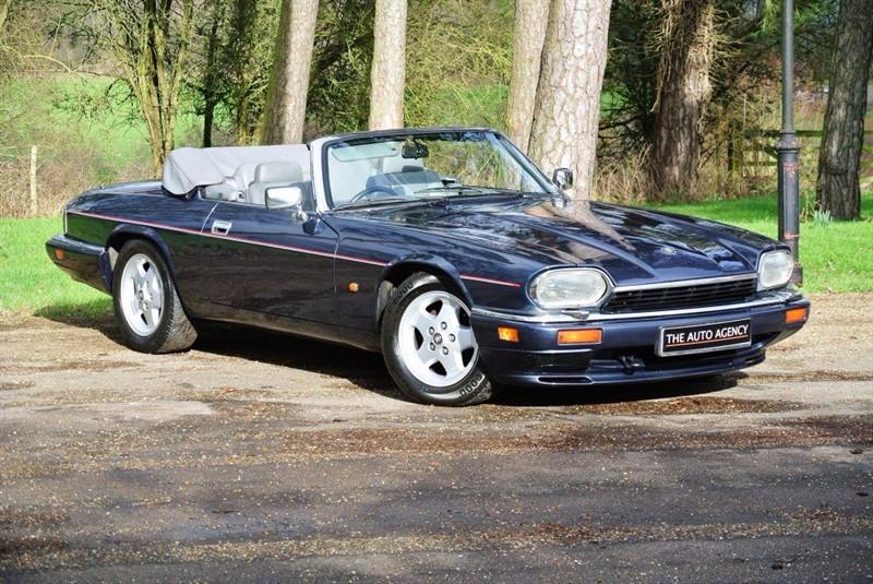 used Jaguar XJS 4.0 Convertible ** COMPREHENSIVE SERVICE HISTORY ** in hertford-hertfordshire
