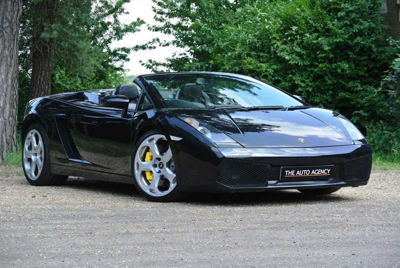 used Lamborghini Gallardo V10 Spyder in hertford-hertfordshire