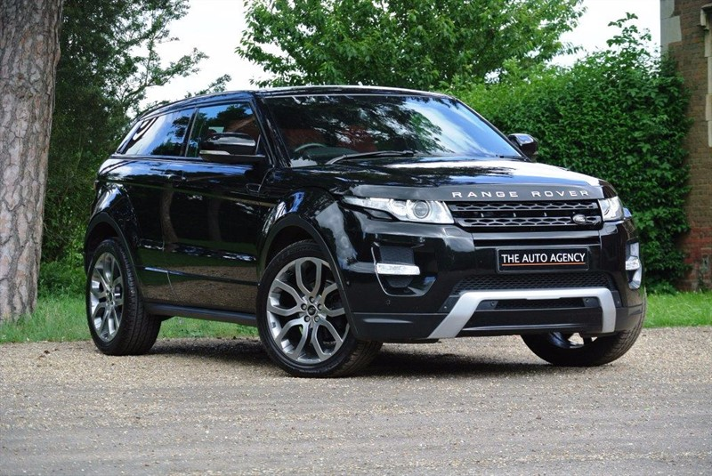used Land Rover Range Rover Evoque SD4 DYNAMIC LUX in hertford-hertfordshire