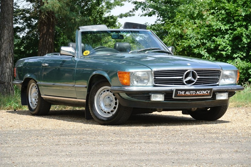 used Mercedes SL 280 in hertford-hertfordshire