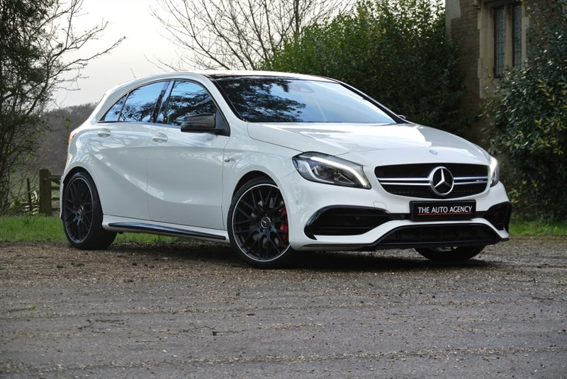 used Mercedes A45 AMG A-CLASS AMG A 45 4MATIC PREMIUM in hertford-hertfordshire