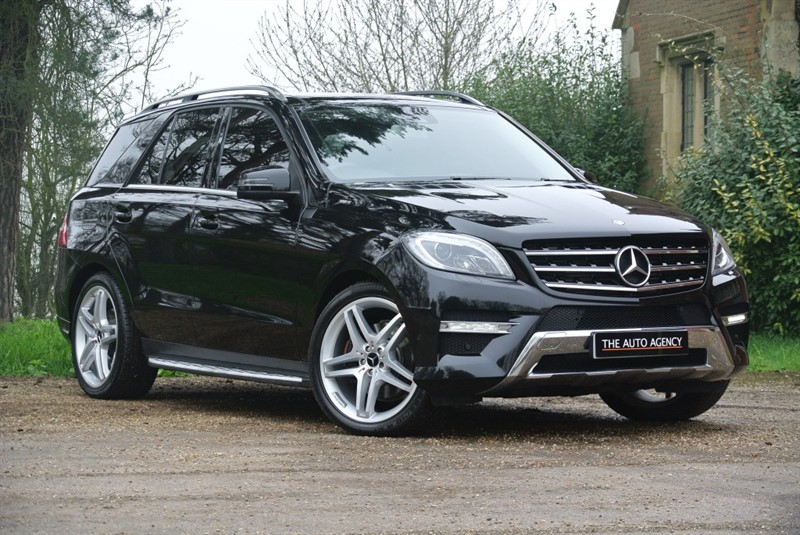 used Mercedes ML350 BLUETEC AMG LINE PREMIUM in hertford-hertfordshire
