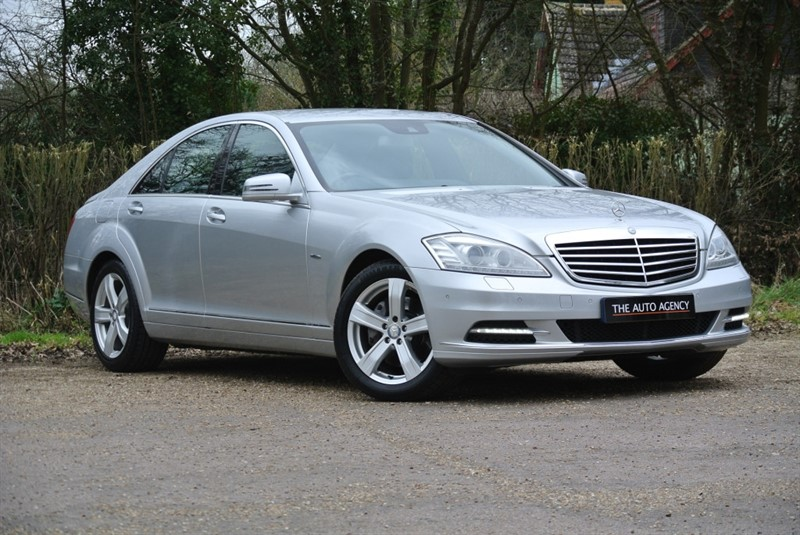 used Mercedes S350 CDI BLUEEFFICIENCY in hertford-hertfordshire