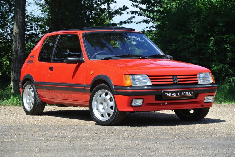 used Peugeot 205 1.9 GTI in hertford-hertfordshire