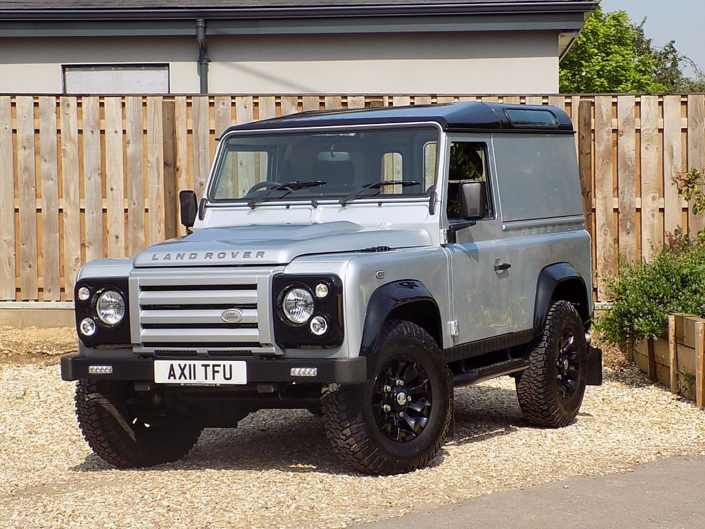 used silver land rover defender for sale wiltshire. Black Bedroom Furniture Sets. Home Design Ideas
