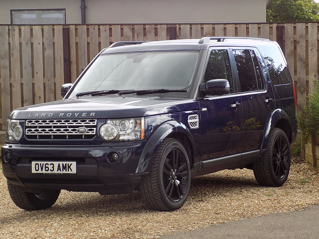 Used Loire Blue Land Rover Discovery For Sale Wiltshire