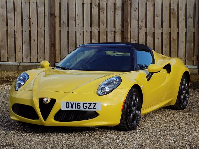 used Alfa Romeo 4C TBI SPIDER *** Excellent Part Exchange Prices Guaranteed *** in shrivenham