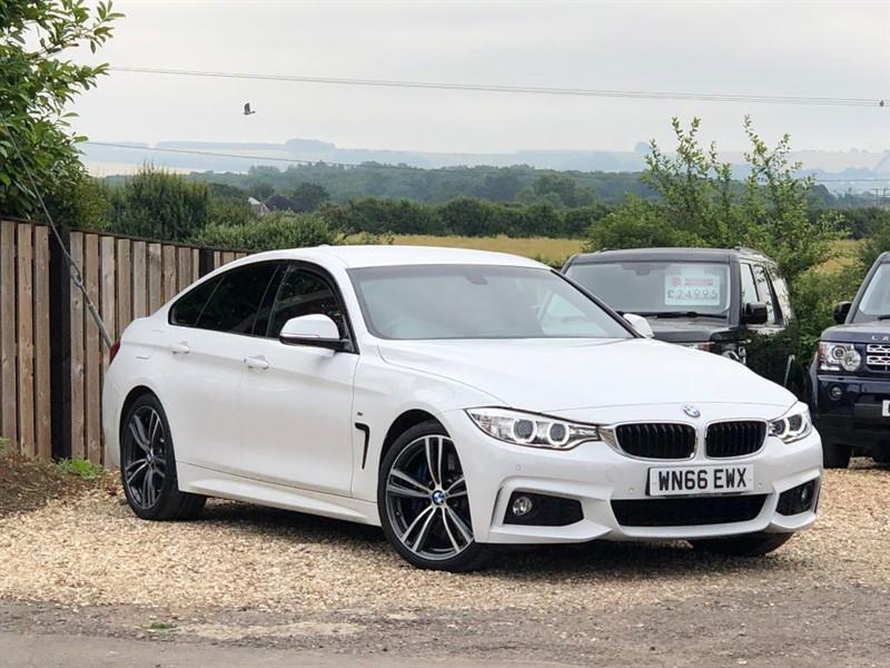 used BMW  4 SERIES 430I M SPORT GRAN COUPE in shrivenham