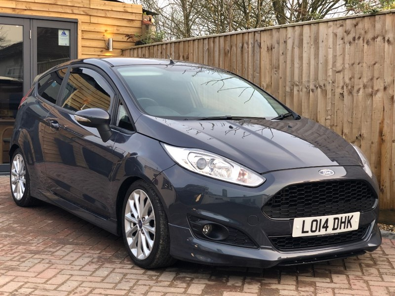 used Ford Fiesta ZETEC S in shrivenham