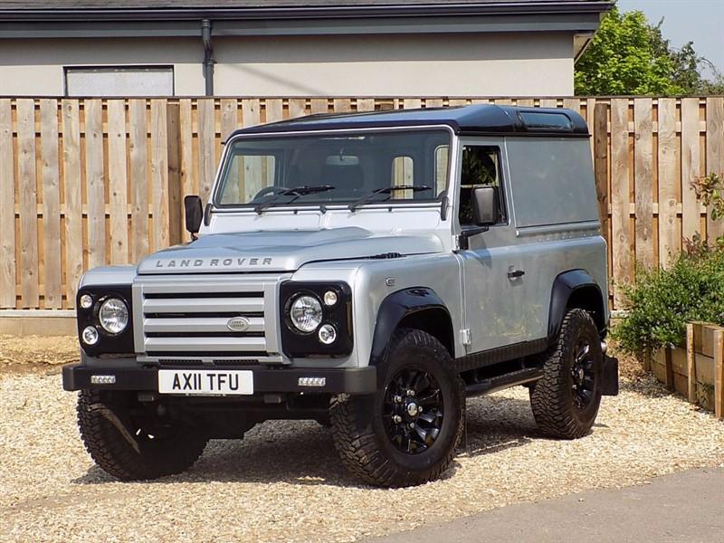 used Land Rover Defender 90 TD X-TECH LE HARD TOP *** NO VAT *** in shrivenham