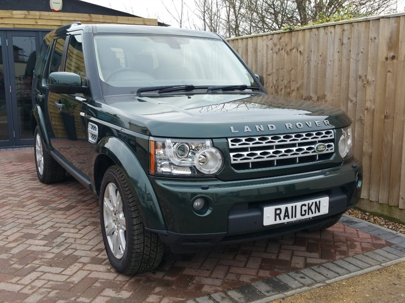 used Land Rover Discovery 4 SDV6 XS in shrivenham