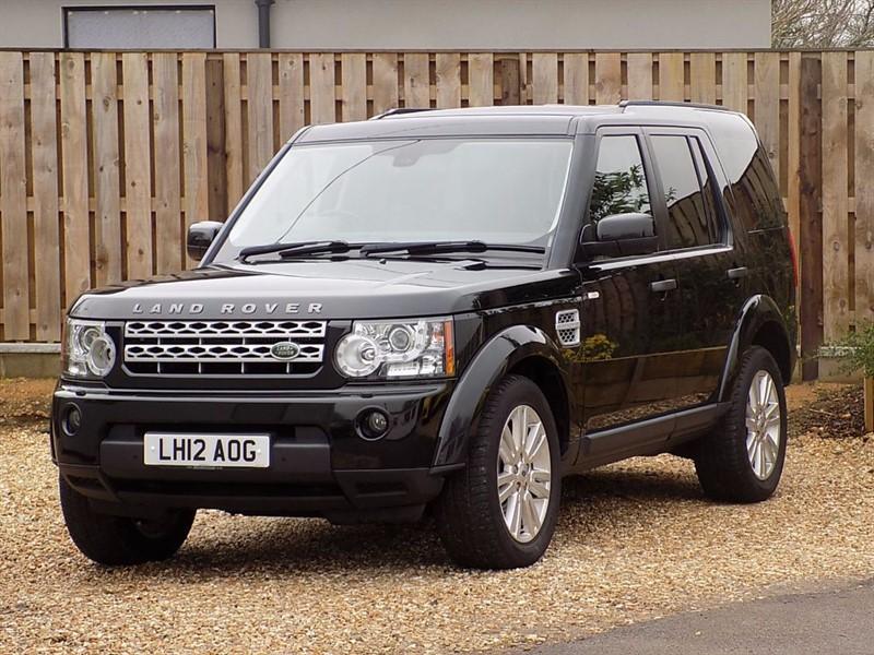 used Land Rover Discovery 4 SDV6 XS  in shrivenham