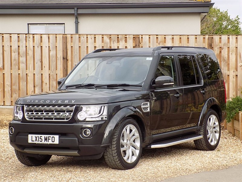 used Land Rover Discovery SDV6 HSE LUXURY in shrivenham