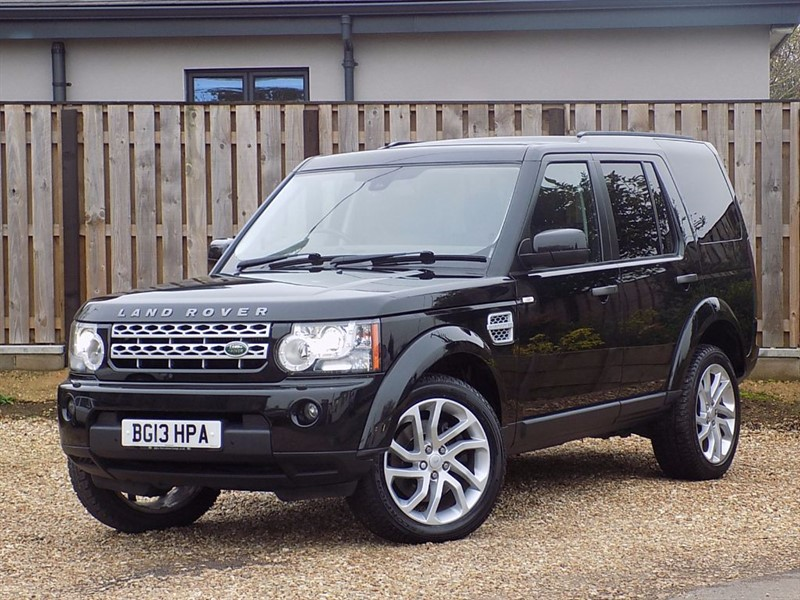 used Land Rover Discovery 4 SDV6 HSE in shrivenham